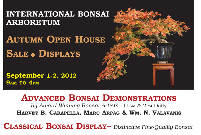 2012 AUTUMN OPEN HOUSE