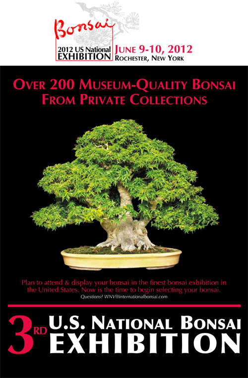 2012 NATIONAL BONSAI POSTER