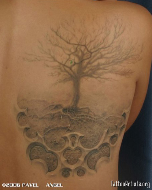 Bonsai Tree Tattoo
