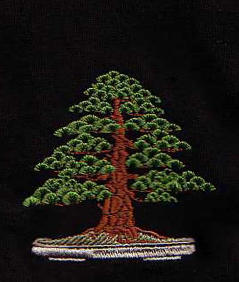 T Shirt Bonsai Bark